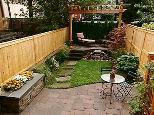 How To Landscape A Small Yard Or Patio Landscaping Tips Tricks